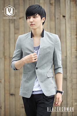 blazer cowok blazercowok.com jaket korean jas pria sk30 a
