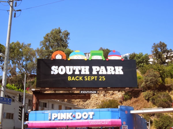 South Park season 17 billboard