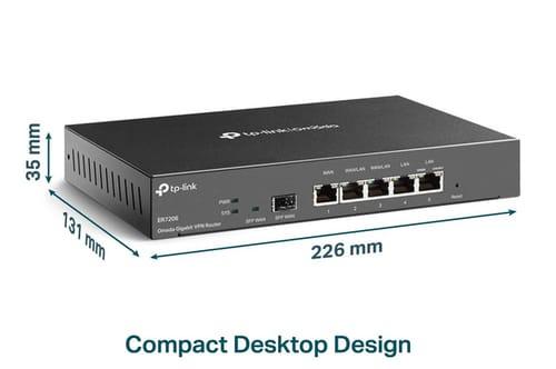 TP-Link ER7206 Professional Wired Gigabit VPN Router