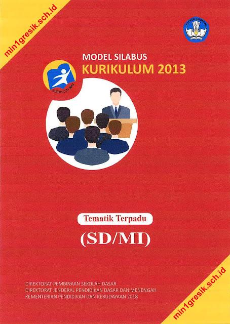 model silabus tematik terpadu kurikulum 2013 untuk sd dan mi