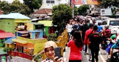 alamat kampung warna warni jodipan di malang