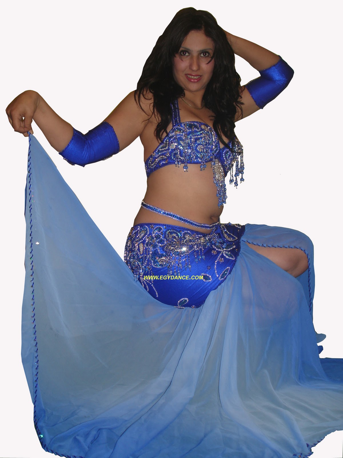 286266ed9 Blue Navy belly dance costume 006