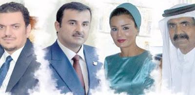فضيحة أمراء قطر