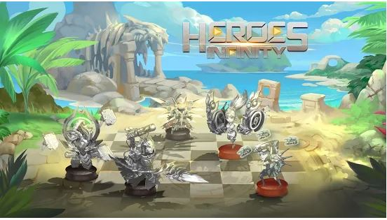 Download Heroes Infinity MOD APK 1.30.12L (MOD Unlimited Money) For Android 3