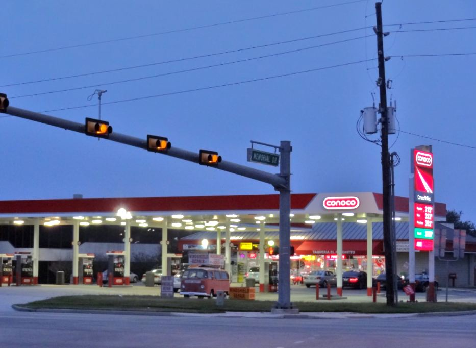 Nearest Bp Gas Station >> H-Town-West Photo Blog: What's at Highway 6 and Memorial Drive? Two gas stations, a Subway, a ...