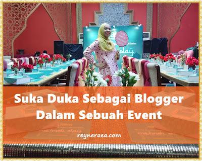 suka duka blogger event