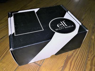 e.l.f. beauty bundle rosegold box