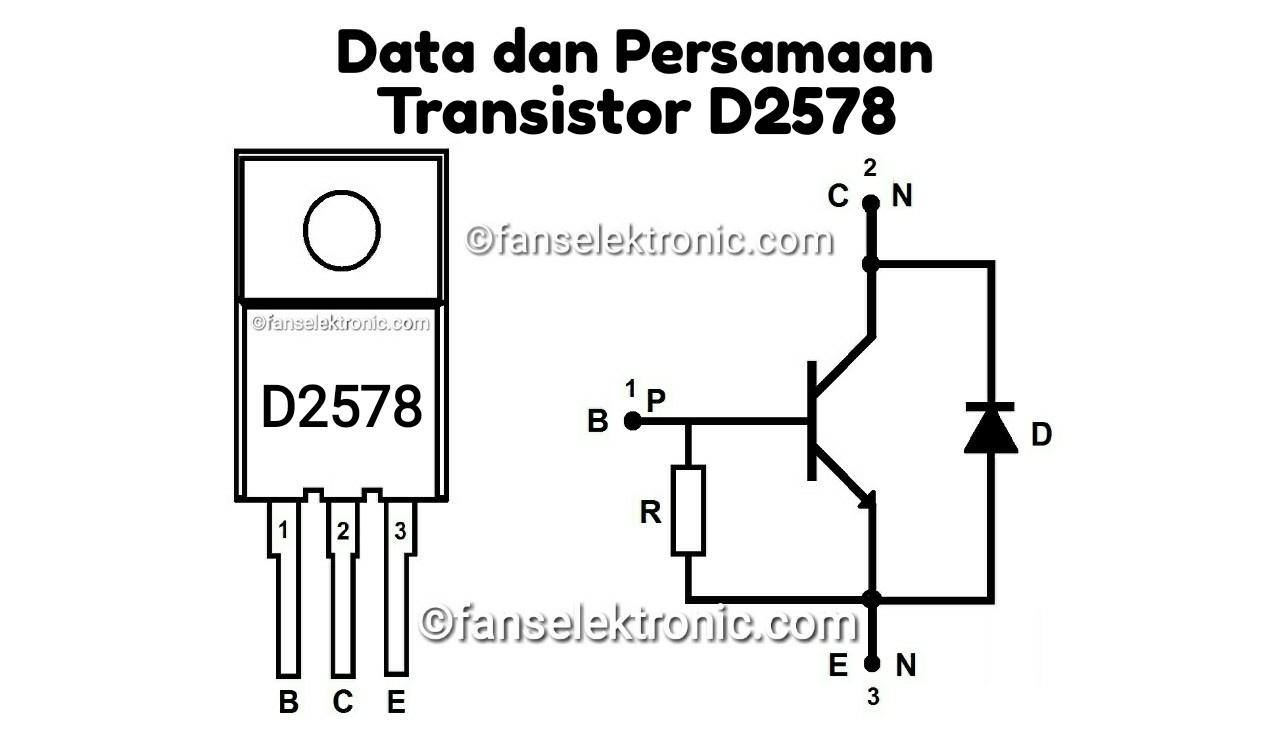 Persamaan Transistor D2578