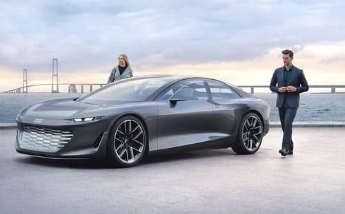 Grandsphere .. luxury salon on Audi wheels