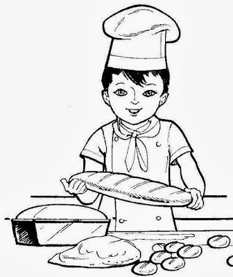 Maestra De Primaria Dibujos De Oficios Para Colorear Profesiones
