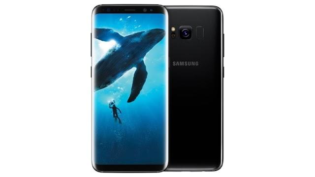 Samsung Galaxy S9 आईरिस स्कैनर के साथ
