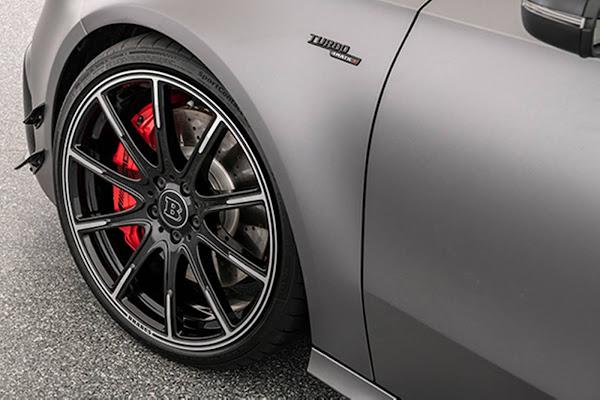 Mercedes-AMG A45 S ganha 450 cv, rodas 20 e suspensão rebaixada - Brabus