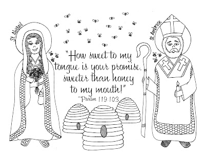 Look To Him And Be Radiant St Ambrose And St Abigail