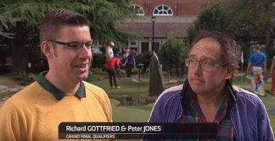 Richard Gottfried & Peter Jones at the American Golf National Adventure Golf Championship