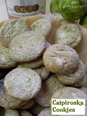 vodka lime brown sugar cookies