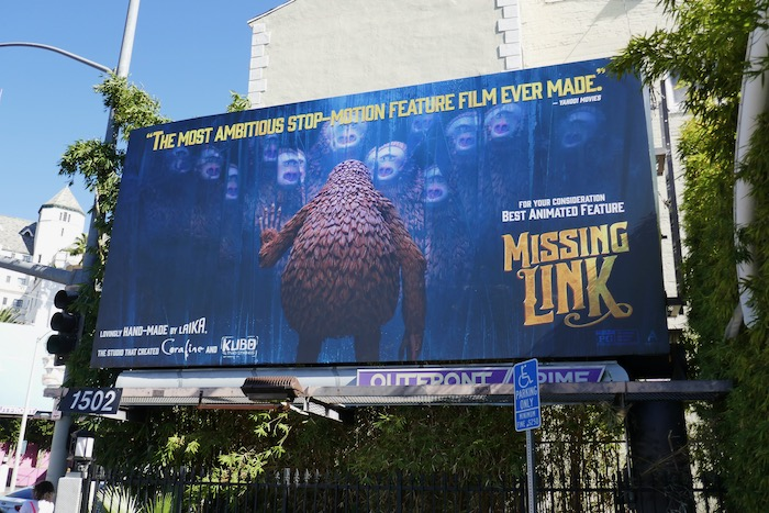 Missing Link For your consideration billboard