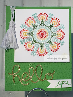 Stampin' Up Moroccan Nights Medallion card by Spread Joy Stamping