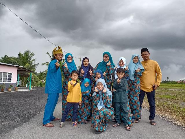 Kenangan AidilAdha 2020 raya PKP raya haji Aidil adha pkp raya perantauan baju sedondon batik viral aidil adha 2020 raya 2020 hari raya 2020 raya haji
