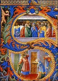 Miniatura della Pentecoste - Beato Angelico