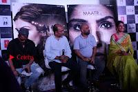 Bollywood Actress Raveena Tandon in Transparent Green Saree at Trailer Launch Of Film Maatr  0017.JPG