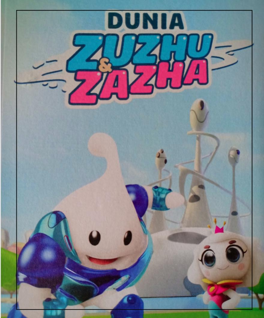 Belajar Dan Bermain Bersama Zuzhu & Zazha Man Jadda Wajada