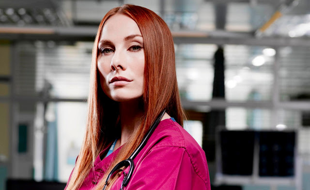 Holby City actress Rosie Marcel