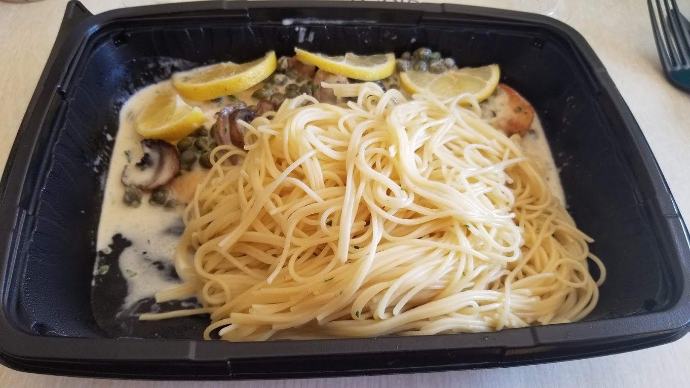 Chicken Piccata from The Cheesecake Factory