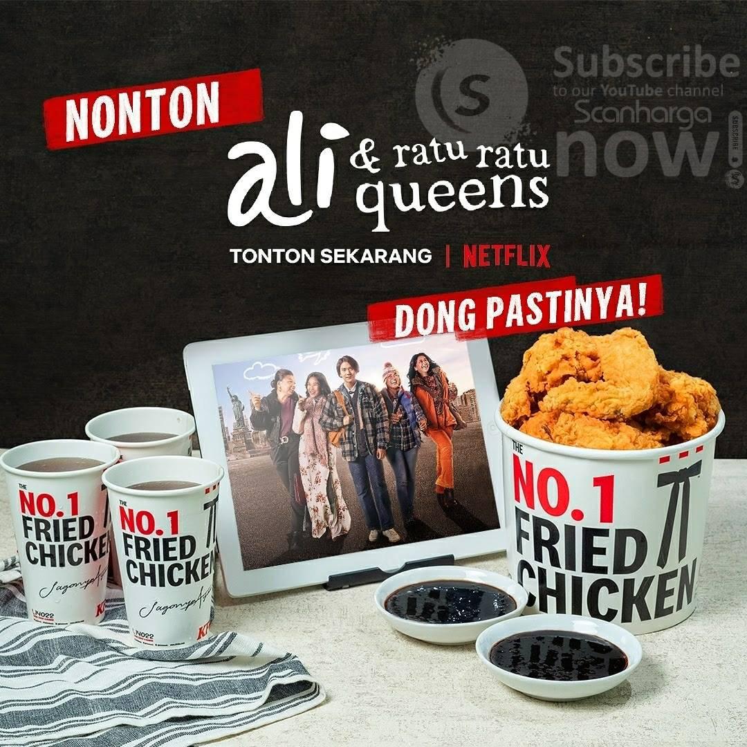 Promo KFC Original Movie Combo Harga Spesial Rp. 16.364 per paket 2