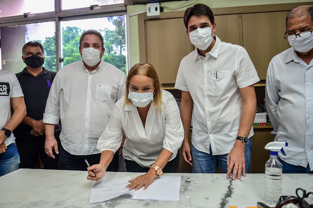 Silvio Costa Filho e Doutora Nadegi anunciam R$ 2 milhões para mobilidade urbana de Camaragibe