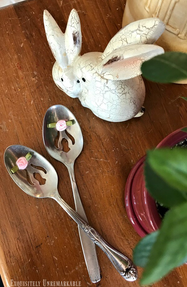 Vintage Spoons Garden Markers