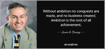 James Champy - Ambição