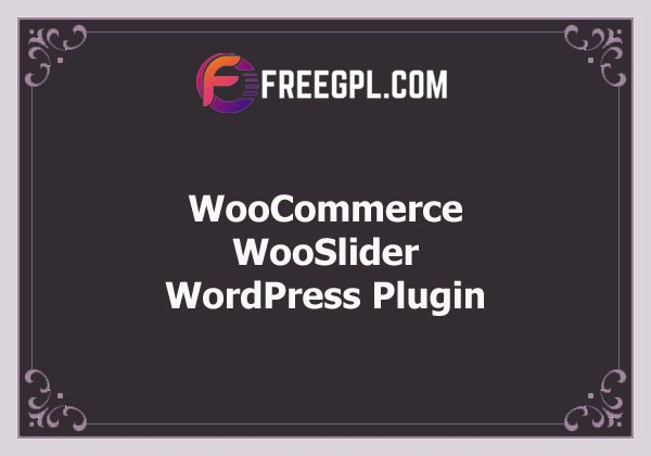 WooCommerce WooSlider Free Download