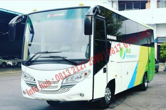 paket kredit dp kecil medium bus mitsubishi 2019