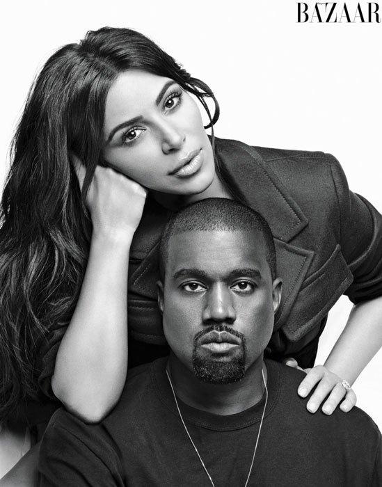 Kanye West na Kim Kardashian