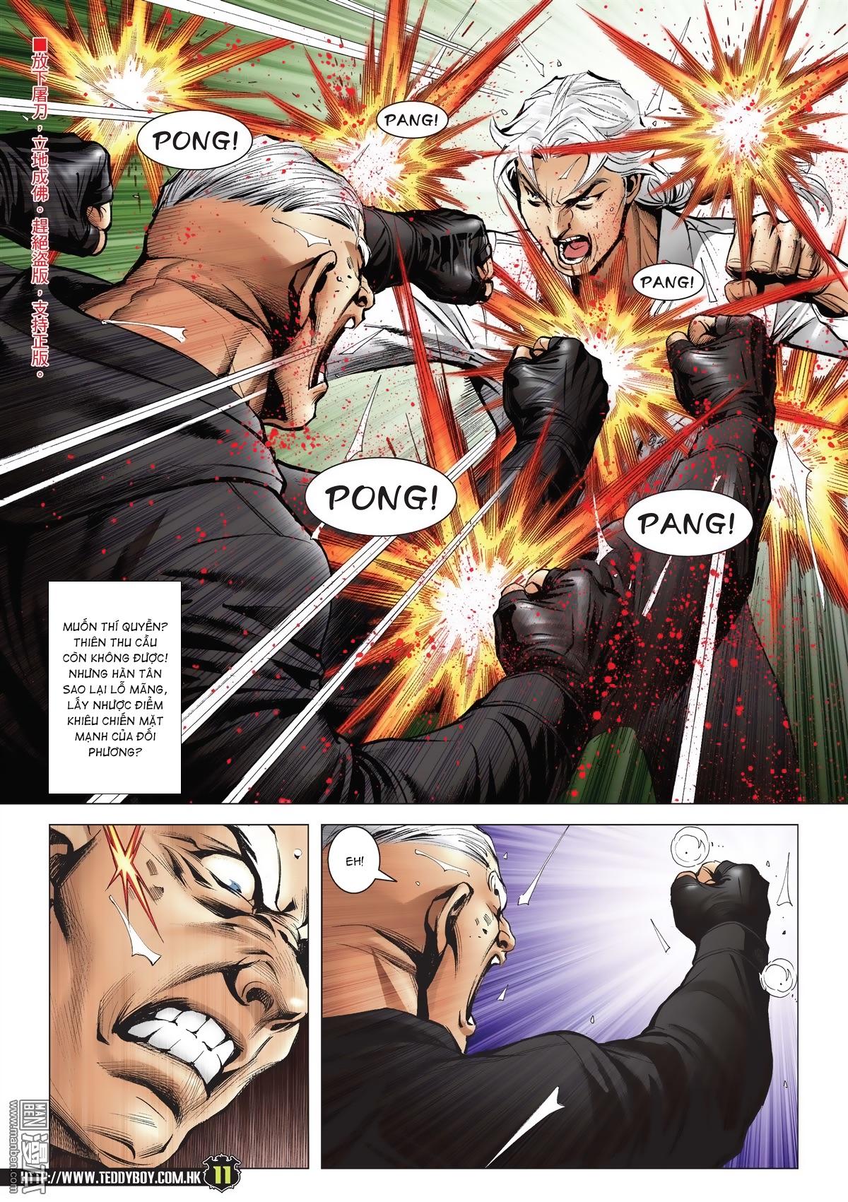 Người Trong Giang Hồ chapter 2052: hàn tân chiến thiên thu 3 trang 10