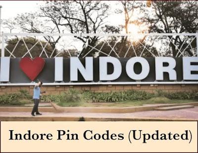 All Indore Pin Codes (Updated) | Indore Pin Code Madhya Pradesh |