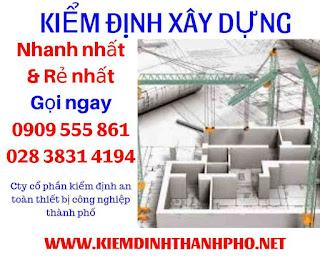 Đơn vị kiểm định xây dựng Sài Gòn