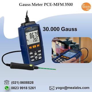 Alat Ukur Magnet PCE-MFM3500