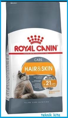 Royal canin untuk melebatkan bulu kucing