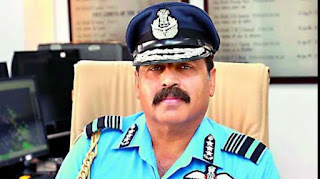 Rakesh Kumar Singh Bhadauria took charge as Chief of the IAF