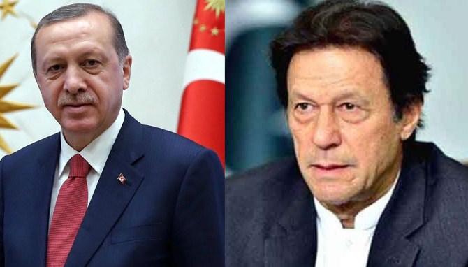 PM Imran bertemu Presiden Turki Tayyip Erdogan di Geneva