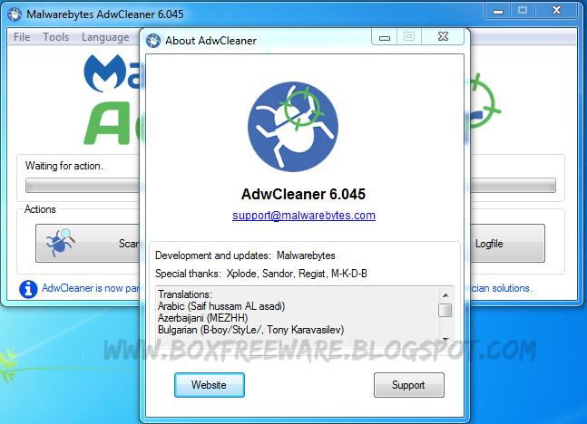 malwarebytes adwcleaner free