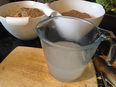 Skilly wash in a jug