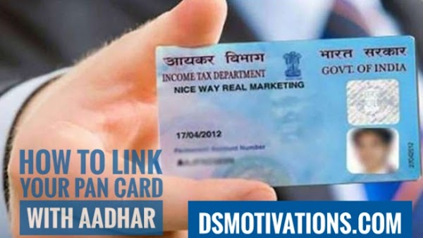How to link pan card with aadhaar. is your pan card link with aadhar?