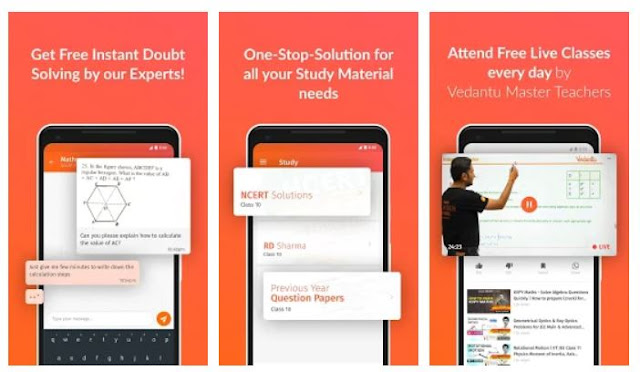 Vedantu - Instant Doubt Solving & Learning Mobile Product Profile