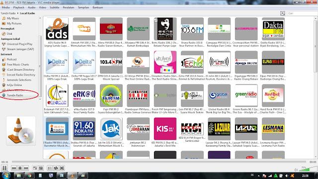 Mendengar Radio di Laptop atau PC dengan VLC Player