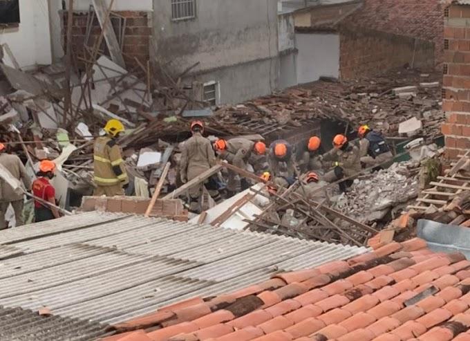 Tragédia: botijão de gás explode em casa na Zona Sul de JP e mata duas pessoas