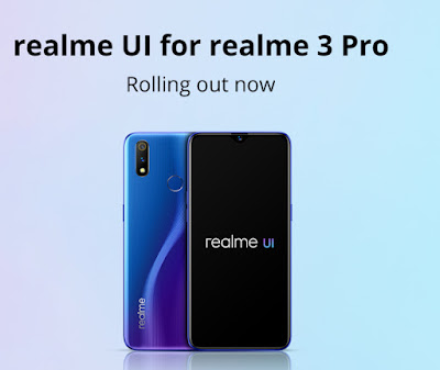 Realme 3 Pro gets Realme UI update based on Android 10
