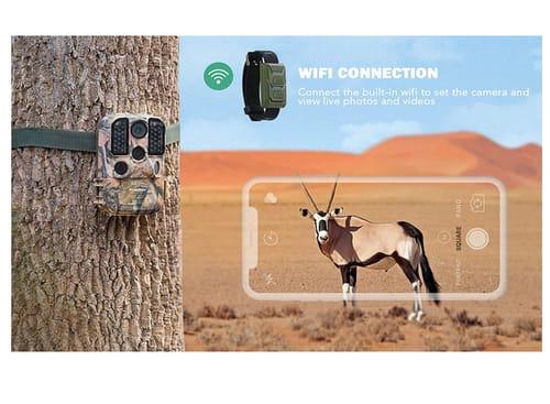 Usogood 24MP 1296P WiFi GameTrail Camera