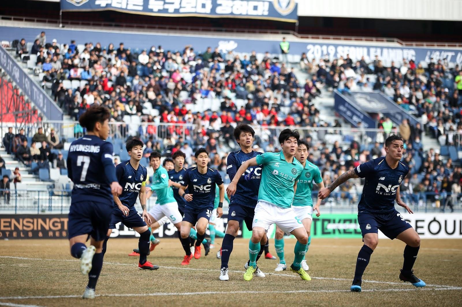 Preview: Ansan Greeners vs Seoul E-Land K League 2 Round 17